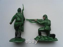Soviet Vintage Full Set of Toy Soldiers Soldiers in Battle 1980s Mega Rare NOS