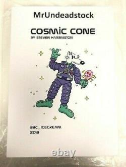 Steven Harrington BBC ICE CREAM Cosmic Cone Mello Toy All 3 Variations FULL SET
