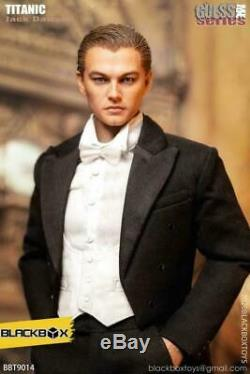 Stock BLACKBOX 1/6 BBT9014A Jack Leonardo Man Suit Ver. Figure Full Set Toy