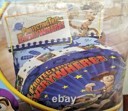 TOY STORY Protecting Toys Everywhere, VINTAGE Full Sheet Set NewithOpen Pkg 4-Piece