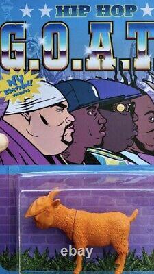 TRAP TOYS NAS NOTORIOUS BIG Hip Hop GOATS FULL SET ODB BIG PUN SOLD OUT! RARE