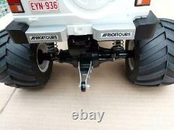 Tamiya Radio Control Toy Mitsubishi Pajero Wheelie Full Set Used Free Shipping