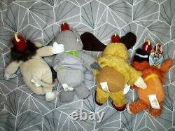 The Banana Splits Toys Full Set of 4