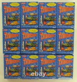 Thunderbirds Konami Full Set 12 Diecast Vehicle Toys Collectible Bundle Sf