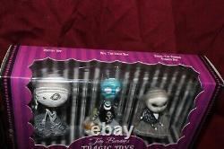 Tim Burton Tragic Toys Full Set Sealed Melancholy Death of Oyster Boy NBC Stain