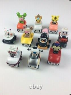 Tokidoki sushi car toy figurine full set of 10 with chaser adios ciao-5332