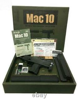 Tokyo Marui Mac10 Full Set Toy Gun Tested Used