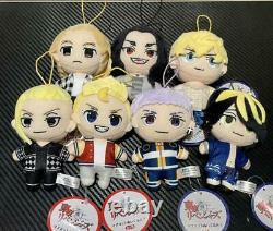 Tokyo Revengers Mascot Plush Toy 3.4 Full Set