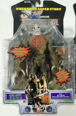 Toy Biz Resident Evil 2 Full Basic Set of 3 William G-3 Leon Claire Sealed 1998