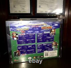 Toy Biz, Video Game Superstars Presents Mario & Banjo N64 Figures, AFA 8.0