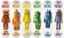 Toy Machine Doll Series Full Set 6 Skateboard Decks