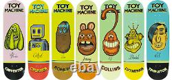 Toy Machine Pen And Ink Colt Bowden Artist Series Full Set 7 Skateboard Decks