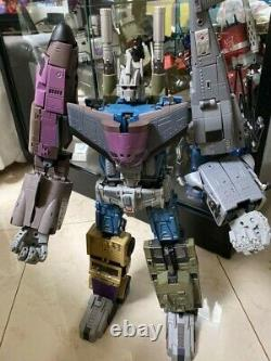 Transformers Unique Toys UT M01-M05 Bruticus Full Set In Box Complete Like New