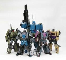 Unique Toys Ragnaros Combiner Full Set of 5 Figures 3rd Party Transformers