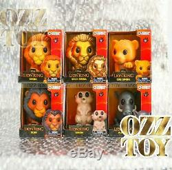 WOOLWORTHS LION KING OOSHIES LARGE BIG FULL SET Rare GOLD SIMBA OZZ TOY OOSHIE