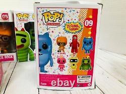 Yo Gabba Gabba FUNKO POP Lot Complete Full Set Figures Television Toys Rare