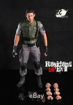 ZC Toys 1/6 Chris Redfield Full Set Resident Evil Collectible Action Figure Toy