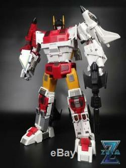 Zeta Toys Kronos Full Set of 5 Transformers Masterpiece Superion New Sealed USA