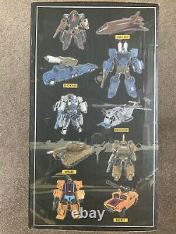 Zeta Toys ZA-06 Bruticon Bruticus Full Set of 5. Transformers Masterpiece