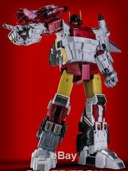 Zeta Toys ZB-06 Superitron Full Set Figures 3rd party Transformers Masterpiece