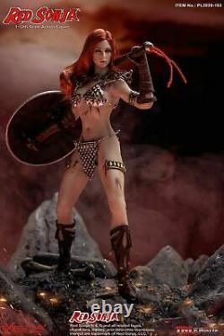 1/12 Tbleague Red Sonja Female Action Figurine Ensemble Complet Jouet De Poupée Collectible