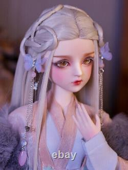 1/3 Bjd Doll 60cm Girl Toys + Yeux Changeables + Perruques + Vêtements Full Set Pretty