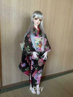 1/3 Bjd Poupée 60cm Balle Mixte Poupée Fille Mignonne En Kimono Avec Jeu Complet