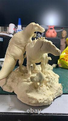 1/35 Edmontosaurusmodèle Hadrosauridae Dinosaur Collector Decor Toy Gk Non Peint