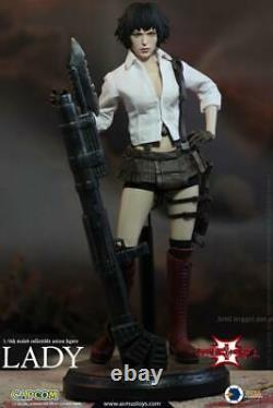1 / 6 Asmus Toys Dmc302 Devil May Cry3 Lady Solider Figure Full Set