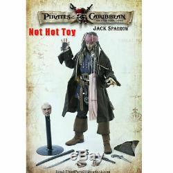 1/6 Échelle Capitaine Jack Sparrow Exclusif Ensemble Complet Chiffre D'action Toy 12 ' ' Nouveau