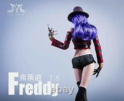 1/6 Échelle Femme Action Figurine Vêtements Ensemble Complet Jason/freddy Pour Ymt035