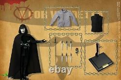1/6 Échelle Toys Power V Pour Vendetta Ct013 12 Male Figure Premium Full Set USA