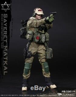 1/6 Flagset Israël Sauvage Boy Forces Spéciales Syrienne Figure Ensemble Complet Jouet Fs-73017