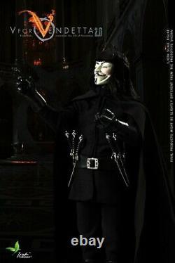 1/6 Jouets D'échelle Puissance V Pour Vendetta Ct013 12 Homme Figure Ensemble Complet U. S. A