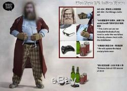 1/6 Jouets Woo Wo-004 Fat Viking Thor Vêtements & Head Sculpt Model Set Toy