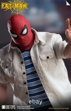 1/6 L'homme Gras Action Figure Spider-man Ver. Modèle De Collection Ensemble Complet One Toys