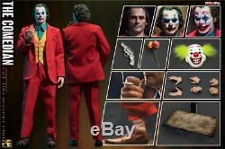 1/6 Le Joker Comedian Jouets Era Pe004 Jacques Ensemble Complet D'action Figure Instock