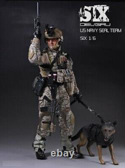 1/6 Playhouse Ph U.s. Navy Seal Team Six Male Solider Full Sets Withdog Toy
