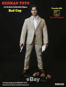 1/6 Redman Toys The Bad Cop Gary Oldman Rm035 Ensemble Complet Action Figure Modèle Cadeaux