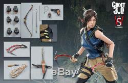 1/6 Swtoys16 Fs031 Lara Croft3.0 Solider Figure Féminine Ensembles Complets Modèle Jouets