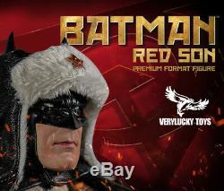 1/6 Verylucky Jouets Vl001 Batman Red Son Ensemble Complet Figure