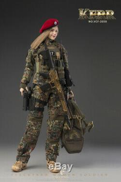 1 / 6e Verycool Flecktarn Femmes Solider Kerr Vcf-2050 Figure Ensemble Complet Toy Cadeau