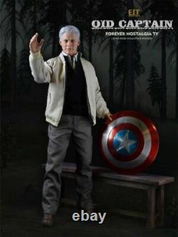 1 / 6ème End I Toys Captain America Figure Vieille Ver. Eit010 Modèle D'ensemble Complet