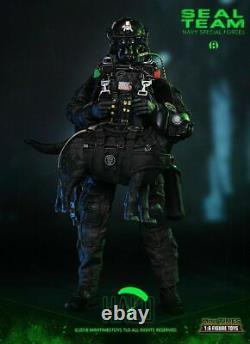1/6ème Mini Fois Jouets Us Navy Seal Team Halo Male Soldier Figure M013 Full Set