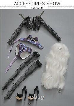 15'' 1/4 Mini Msd Résine Duffy Supermodel Ooak Bjd Jointed Doll Body Full Set Jouet