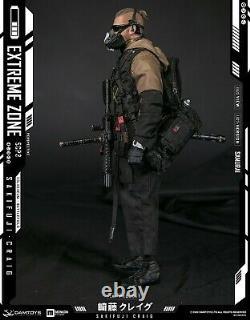 16 Damtoys Ebs001extremezone Samurai Sakifuji Craig Figure Full Set Jouet