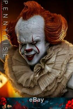 16 Échelle Hot Toys Ht Mms555 Bill Skarsgard Pennywise Solider Figure Ensemble Complet