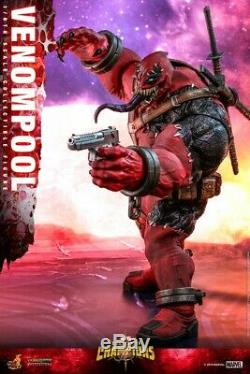 16 Échelle Hot Toys Marvel Concours Des Champions Venompool Vgm35 Ensemble Complet Figure
