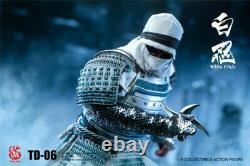 16 Échelle White Armor Ninja Ancient Warrior Toysdao Td-06 Figure Full Set Toy