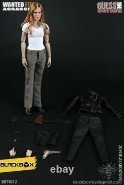16 Femme Doll Agent Angelina Action Figurine Modèle Jouet Cadeau Collectionnable Ensemble Complet